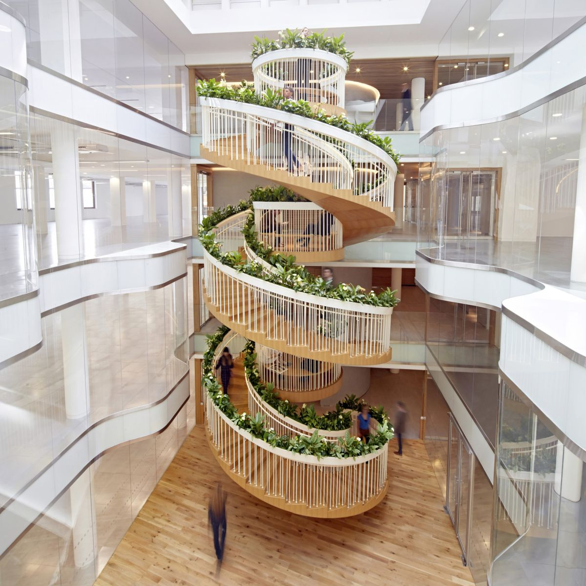 20 Of The Most Beautiful Spiral Staircase Designs Ever