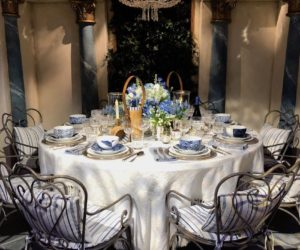 French chic is always in style for a memorable setting.
