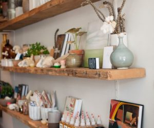 How To Use Reclaimed Wood Floating Shelves To Prettify Your Home