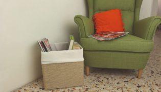 Rope-Wrapped DIY Storage Cardboard Box