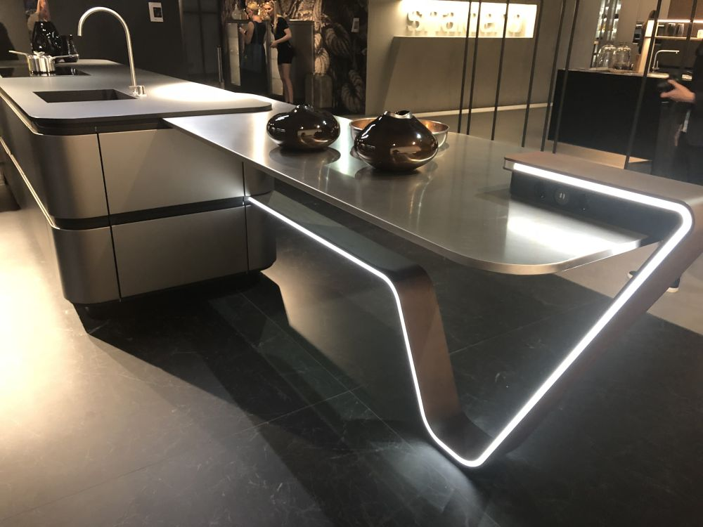 Fabulous Eurocucina 2018 Shows New Trends For Modern And Luxury Kitchens Complete Home Design Collection Epsylindsey Bellcom