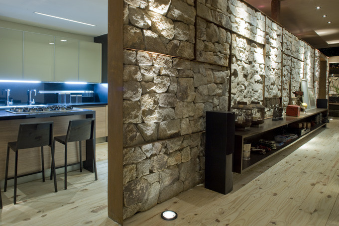 Charming Structures With Interior Stone Walls