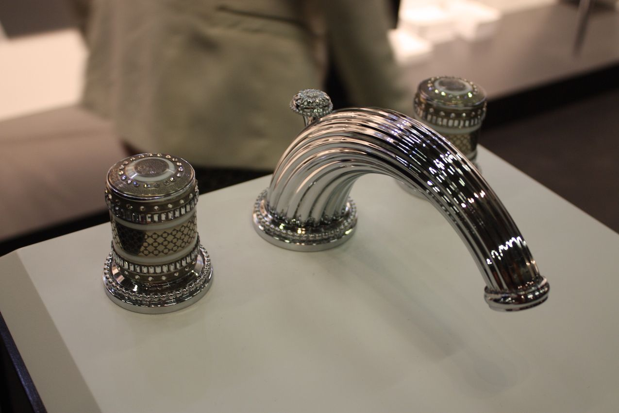 Upgraded faucets make an immediate design difference.