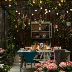 The most beautiful backyard arrangement