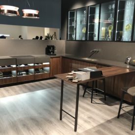 biefbi kitchen design with glass cabinet doors