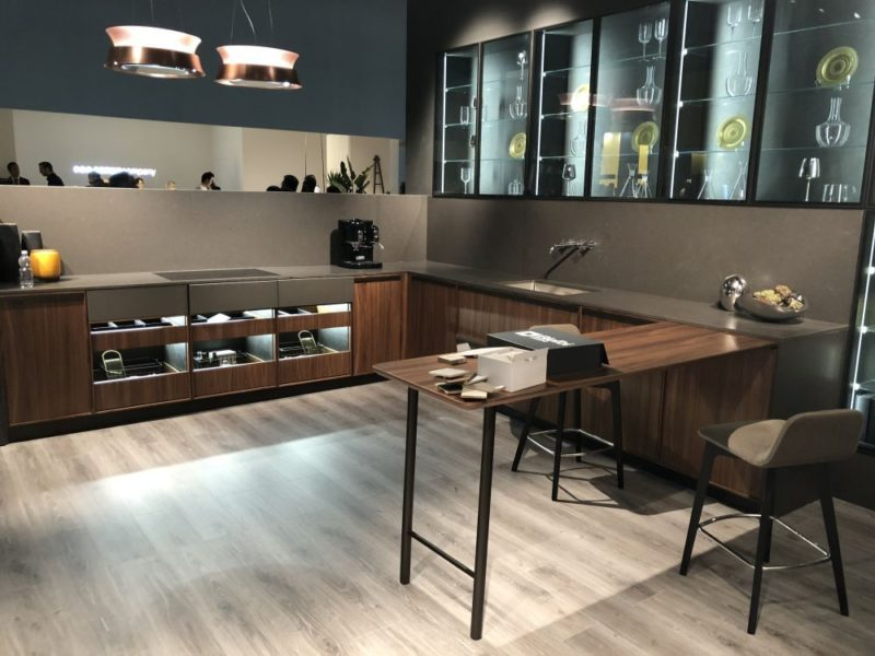 EuroCucina 2018 Shows New Trends For Modern And Luxury Kitchens
