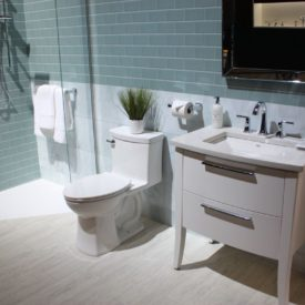 American Standard green bathroom