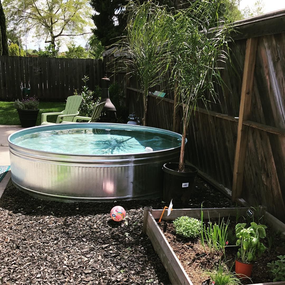 How to make your own stock tank pool this summer - How to filter a stock tank swimming pool ...