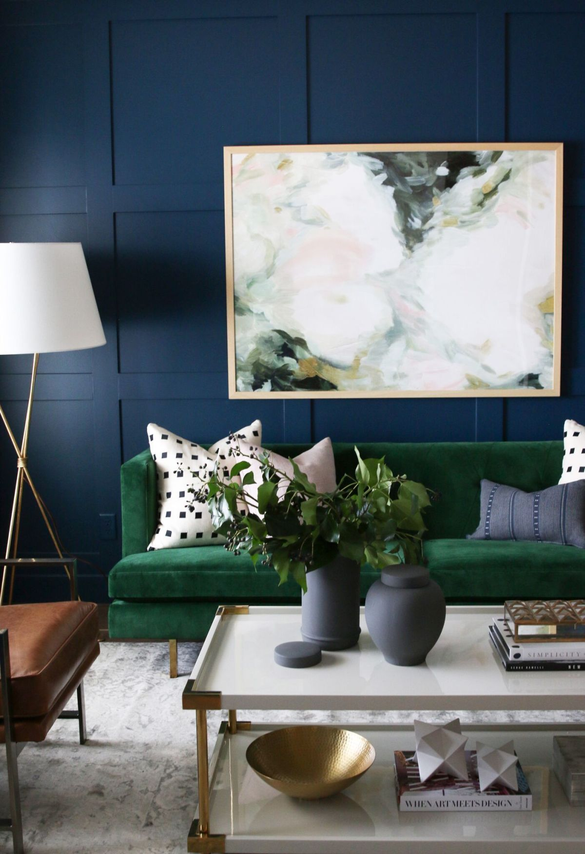 Green Living Room Designs: 29 Blue Living Rooms Made For Relaxing