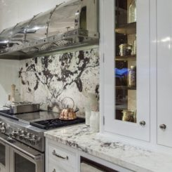 Christopher Peacock Luxury Kitchen Design with Solid Marble
