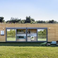 Eco-Friendly Shipping Container