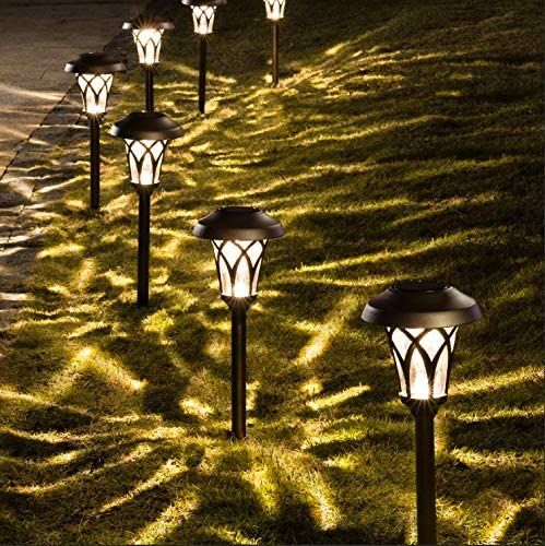 Designer Mood Lighting 2 x 10 Piece LED Solar Wooden Hexagonal String Lights