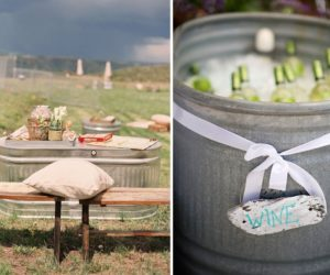 How To Repurpose A Galvanized Stock Tank This Summer