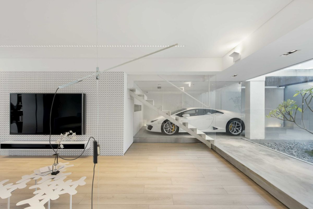Residences With The Most Extravagant Car Parking Spaces Ever