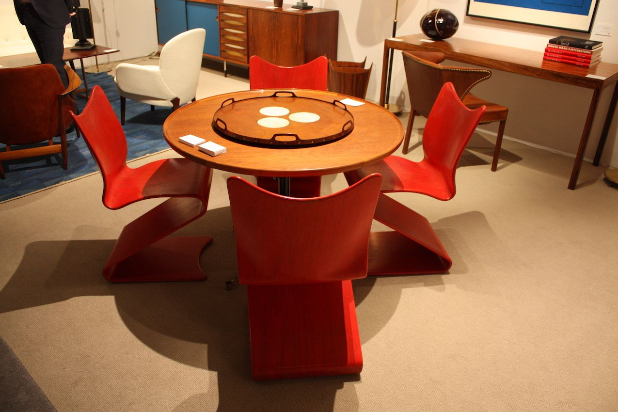 Gallery-worthy finds like Panton chairs from Modernity are rare finds.