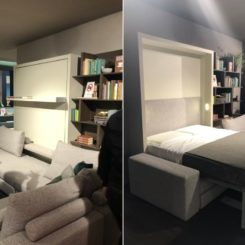 Murphy wall bed from Clei