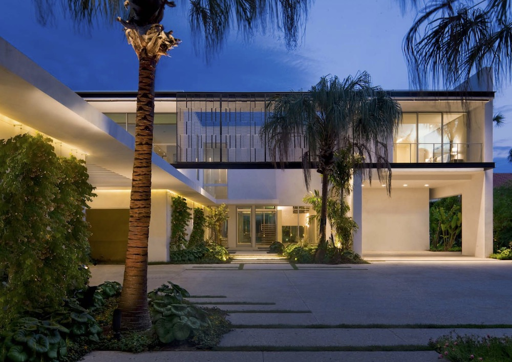 This is the first project completed by SAOTA in Miami