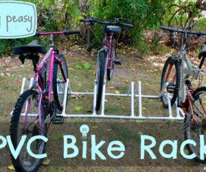 20 Amazing DIY Bike Rack Ideas You Just Have To See
