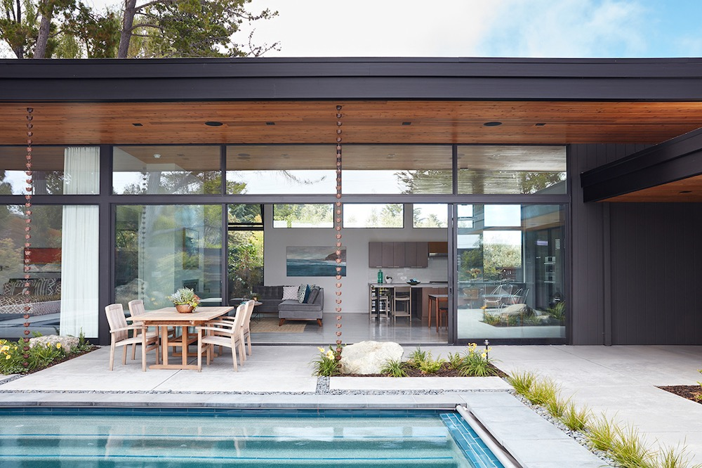 A Modern Family Home Takes The Place Of A Beautiful But Old House