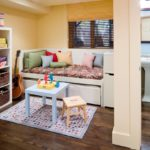 Small room decor for kids with trundel bed