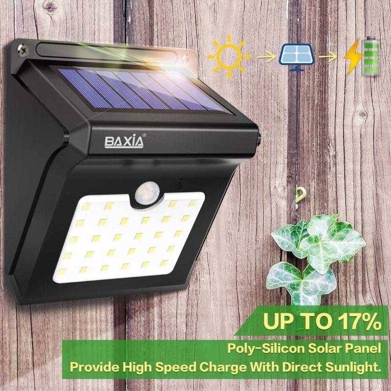 BAXIA TECHNOLOGY BX-SL-101 Solar Lights