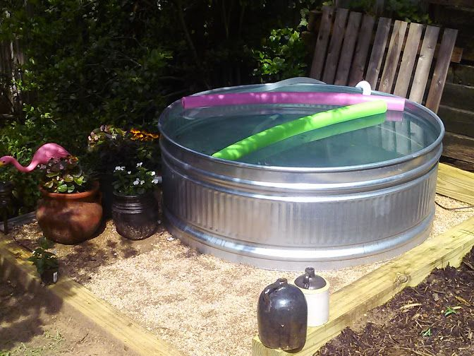 How To Make Your Own Stock Tank Pool This Summer