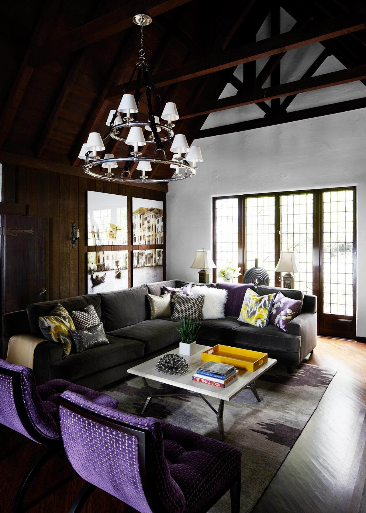 Tudor Style Home Interior Design Colors