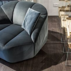 Velvet Cloud Armchair Design
