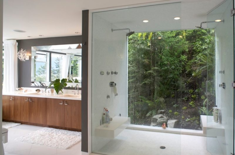The Window In The Shower Dilemma In The Contemporary Home