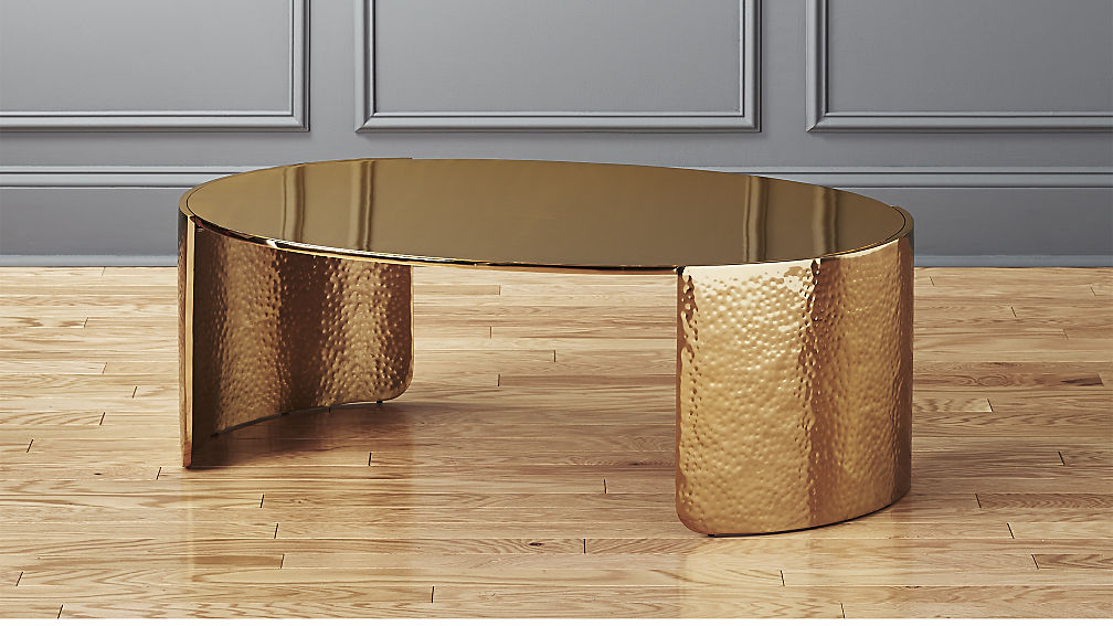 Gold Coffee Tables With Trendy And Sophisticated Designs