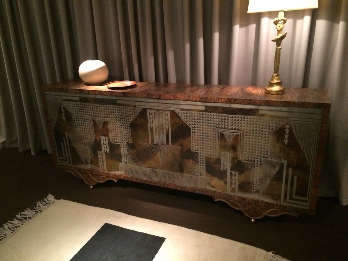 This credenza has all the hallmarks of an Art Deco era piece.
