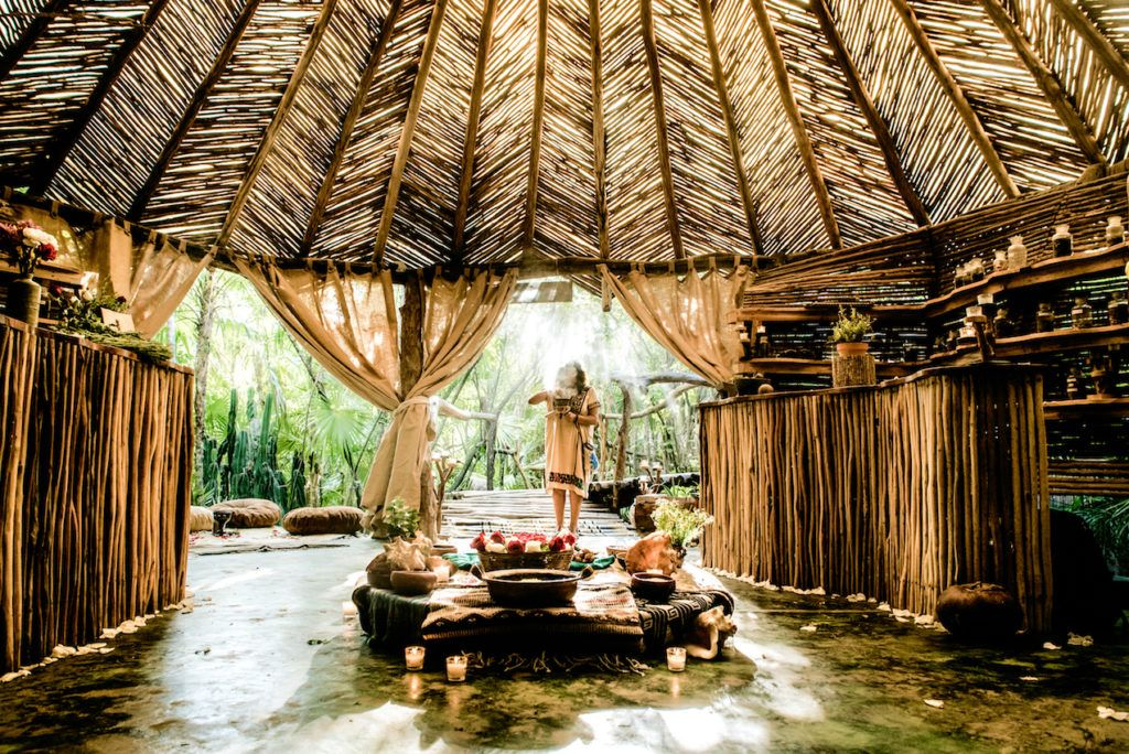 The Maya Spa is perfect for pampering in a natural environment.