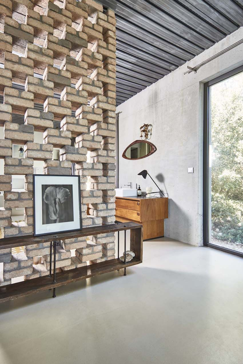 This corner really emphasizes the mid-century modern aesthetic.