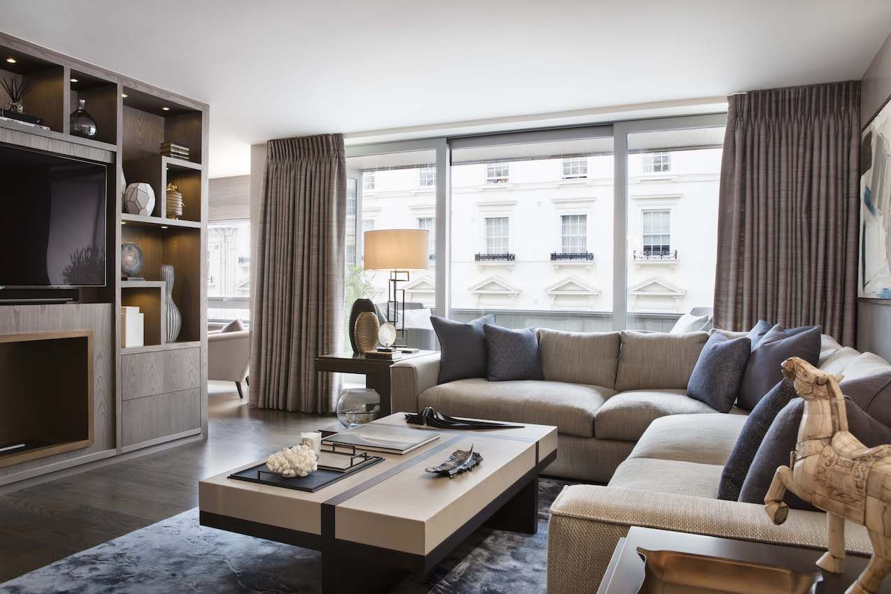 Renovated Belgravia Apartment is an Elegant Pied-a-Terre