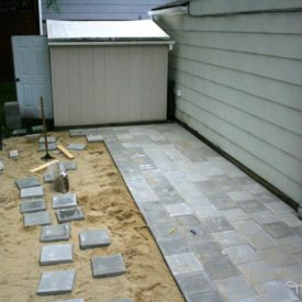 Concrete paver on the patio - How to