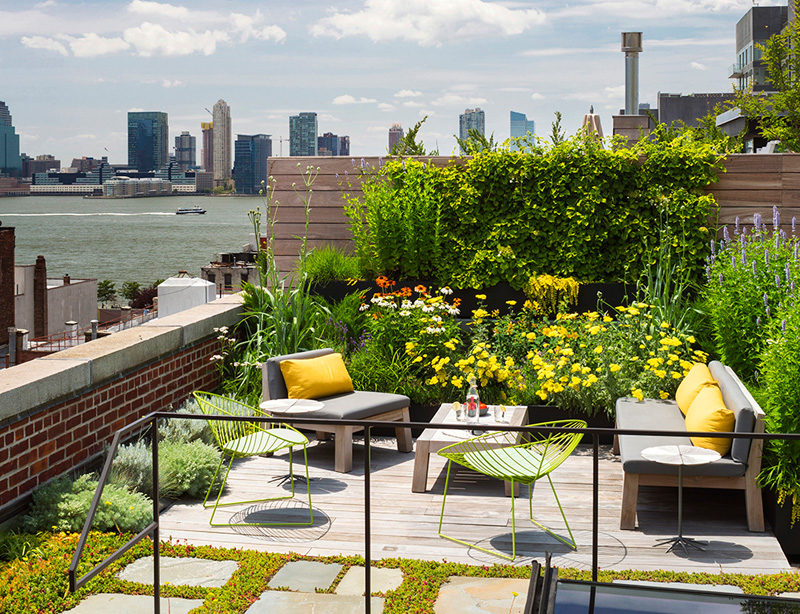 Great Homes With Beautiful Rooftop Decks And Terraces