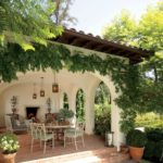 Spanish House with covered porch
