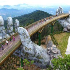 Bridge In Vietnam Hands