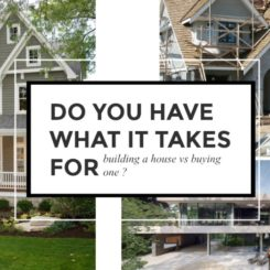 Don't Think about Building a House vs Buying One Without Reading This