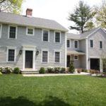 Colonial home gray sliding