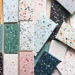 Limitless color and aggregate combinations are possible with terrazzo.