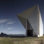 Concrete Chapel in Valleaceron