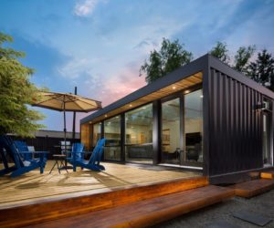 Container home honomobo ho4 deck