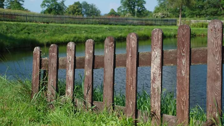 diy fence Dog-Ear Fence