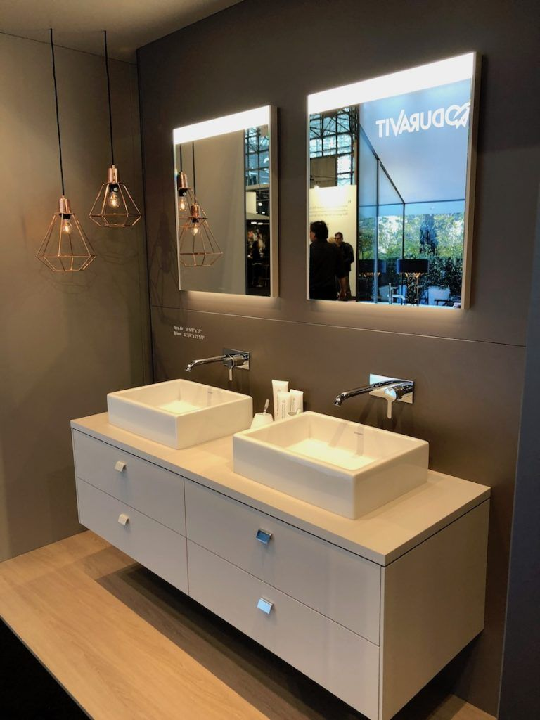 Wall Mounted Vanities Have Cleaner Lines And A Lighter Look