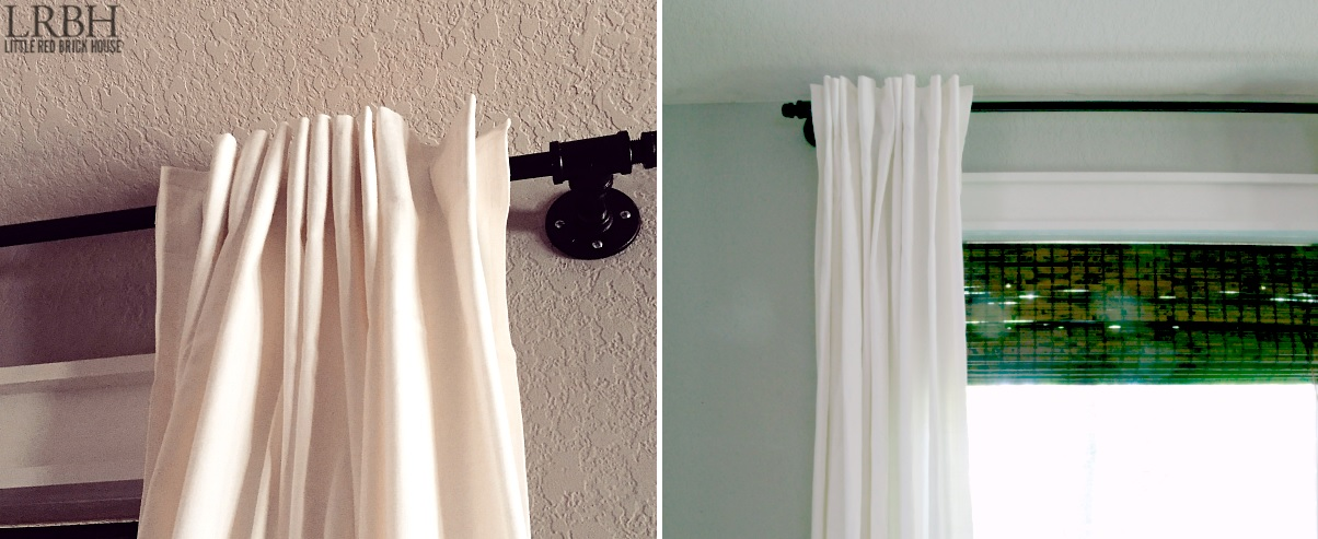 Diy curtain rods easy fun cheap and inspiring ideas youll love view in gallery solutioingenieria Images