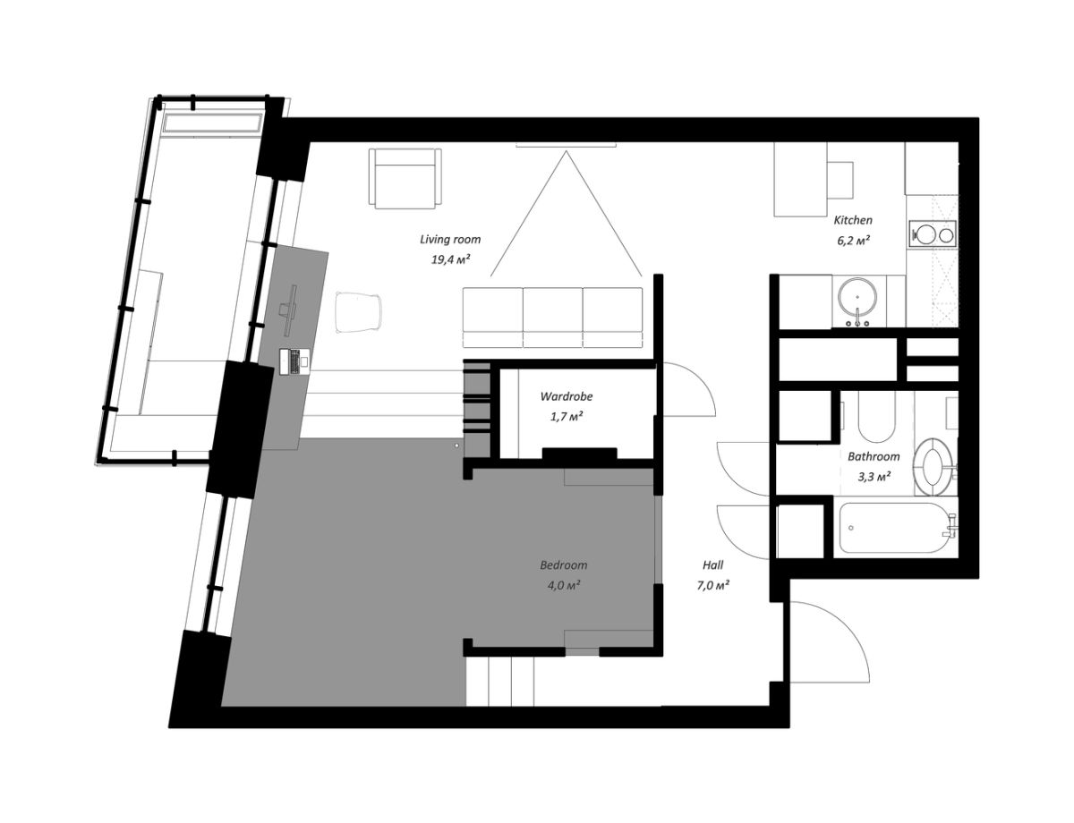 Life In A Tiny Home - Small House Plans Under 500 Sq Ft