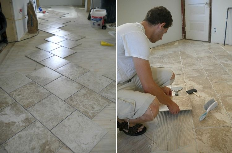 How To Tile A Bathroom Floor - A Simple