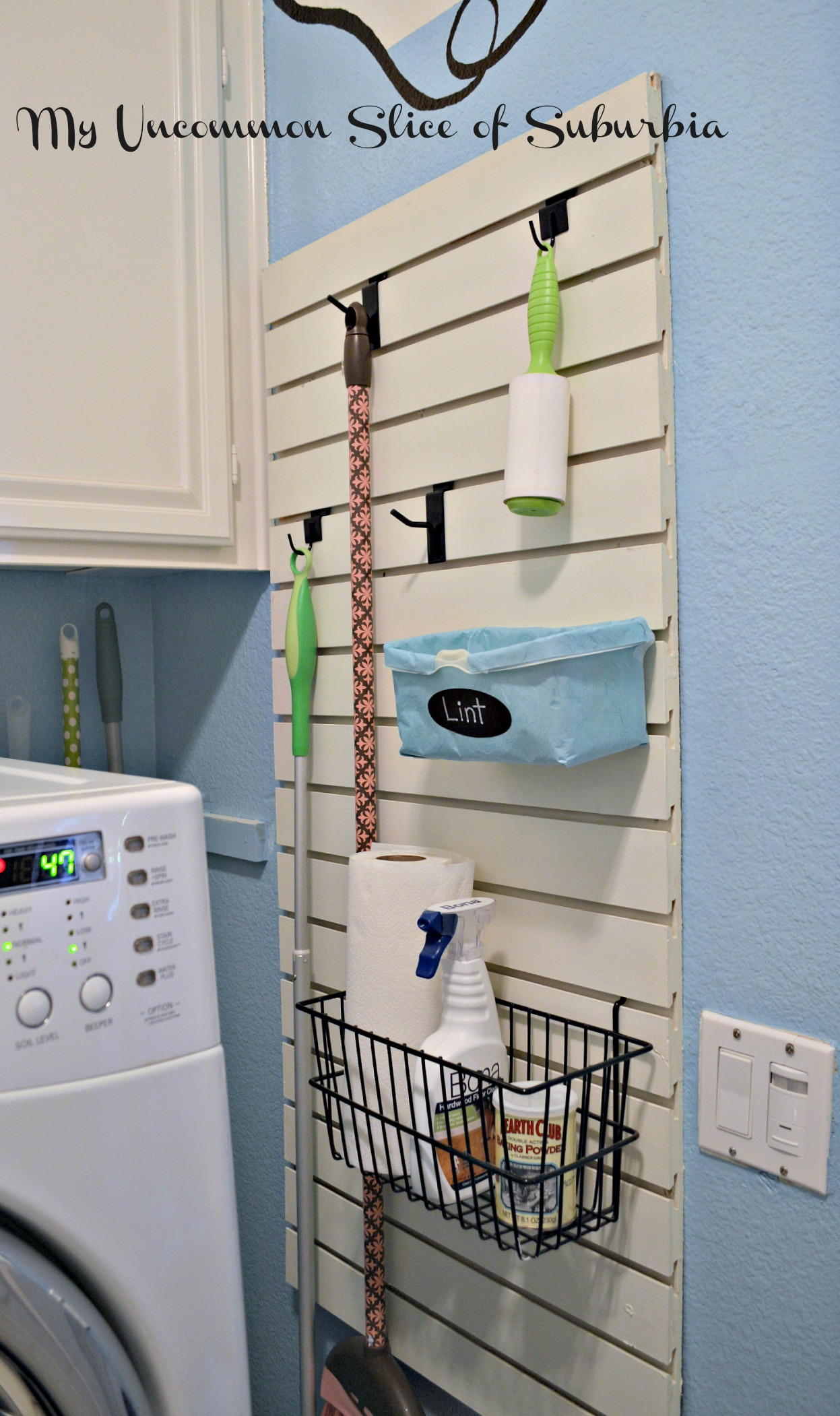 10 DIY Ways To Give Your Laundry Room A Quick Makeover