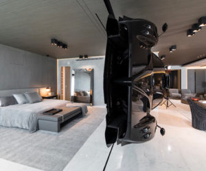 Exclusive Apartment Features A Rare Pagani Zonda R As A Room Divider
